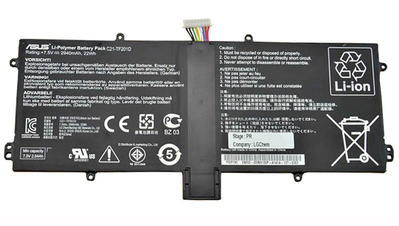 تعویض باتری تبلت ایسوس